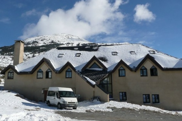 Chambre au col de puymorens 100 m tres des pistes adv08085 for Porte puymorens