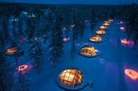 Nuit insolite dans un igloo en Laponie