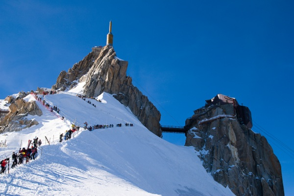 Ascension de l'Aiguille du Midi