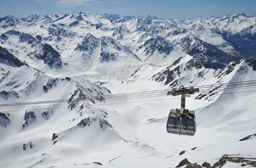 Vue sur les Pyrénées autour de La Mongie